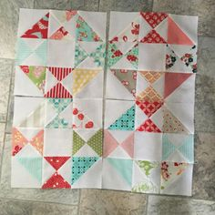Four more snippets blocks #snippetsqal still a few more to do to catch up #quiltingwithkim #bonniecottonway #bonnieandcamille