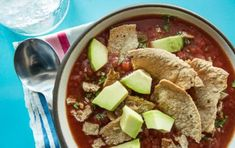 Spicy Tortilla Soup with Black Beans