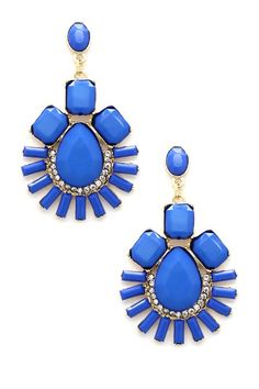 Blue My Ear Earrings by Eye Candy Los Angeles on @HauteLook ($12)