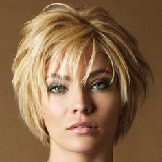 Short Hairstyles for Women Over 50 Round Face