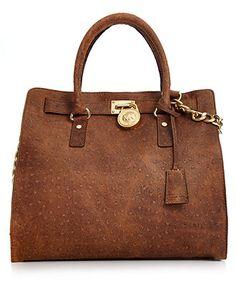 MICHAEL Michael Kors Handbag, Hamilton Large North South Tote - Handbags & Accessories - Macy's