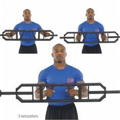 Multi Grip Bar - 50080 - Exercise & Fitness Free Bars And Plates/ Multi Grip Bar Power system bar Commercial Fitness Equipment, No Equipment Workout, Weight Lifting Bar, Home Gym Garage, Muscular Development, Holistic Health Coach, Gym Design, Krav Maga, Strength Training