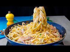 Lituji, že jsem se tento recept na těstoviny s kuřecím masem neznal už dříve   Cookrate - Czech - YouTube Pizza Lasagna, Nachos, Carne, Spaghetti, Food And Drink, The Creator, Dinner, Ethnic Recipes, Youtube