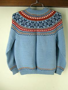 Label: Handknitted in Norway, United Knitwear