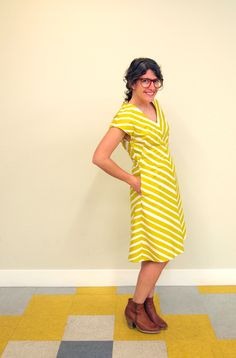 Fancy Tiger Crafts: QuiltCon Sew-a-Thon: Jaime's Amelia Dress