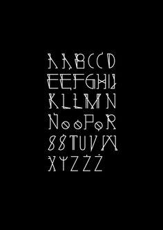 baltazar typeface | typography - Nina Gregier - proste kreski - graphic design & art direction