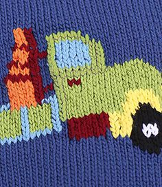 Ravelry: Truck Sweater pattern by Tonia Barry