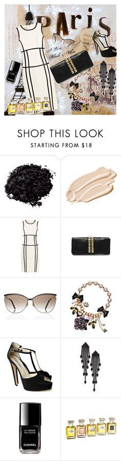 new fashion by flutramalazogu on Polyvore featuring Michael Kors, Brian Atwood, Betsey Johnson, Elizabeth Cole, Gucci, Stila, Chanel and Tela Beauty Organics