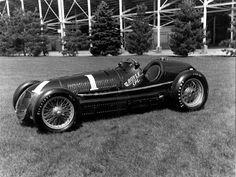 """In 1939, Maserati 8CTF """"Boyle Special"""""""