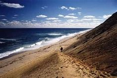 long nook beach truro ma - the most unbelievably giant sand dunes.