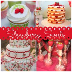 strawberry sweets ideas