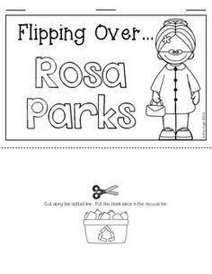 Rosa Parks Emergent Reader for Kindergarten and First