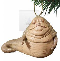 """Disney Star Wars Return of the Jedi """"Jabba the Hut"""" Ornament"""