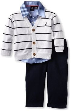 Amazon.com: Nautica Sportswear Kids Baby-boys Infant Sweater Set: Clothing