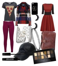 """""""Yes, i know its bad"""" by emmymofield ❤ liked on Polyvore featuring Wildfox, Prada, Lattori, Great Plains, Keds, Vianel, Lord & Berry, Maybelline, women's clothing and women"""