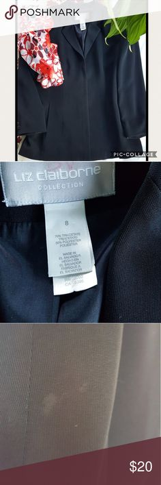 "CLASSY JACKET Beautiful jacket, perfect for church, work, or wedding.   SIZE 8 Shoulder to shoulder 16 1/2"" ARMPIT TO ARMPIT 19 1/2"" ARMPIT DOWN LENGHT 18"" Liz Claiborne Jackets & Coats"