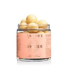 SUMMER – Peach Choc Coated Liquorice - Liquorice by Johan Bülow