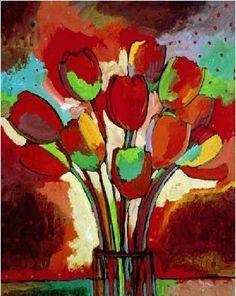 tulip kandinsky - Google Search