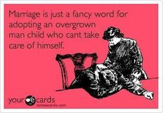 Ecard marriage is just a fancy word for adoption