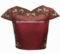 net blouse designs 2015