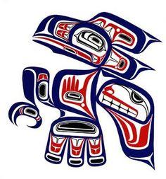 Raven by Corey W. Moraes, Tsimshian artist from British Columbia, Canada.