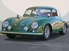 "doyoulikevintage: "" Porsche 356 """