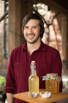 "From our July/August ""Adventurous Eats"" Issue: SCOBY do!: Make your own kombucha with the Red Fern's Matthew Keefe"