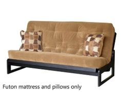 Innerspring Designer Futon Mattress Size: Full, Color: Mocha by Big Tree Furniture. $284.79. Color: Full - Mocha. HR foam support layers. 13-Gauge 272 coil premium innerspring. Soft blended cotton batting layers. Includes coordinating welted pillow. ZSSF079 Size: Full, Color: Mocha Features: -13 Gauge and 272 coil innerspring.-HR foam support layers.-Soft blended cotton batting layers.-Sewn tape edge (no zipper).-Machine tufted poly cotton fabric.-Made in USA. Includes: -Includ...
