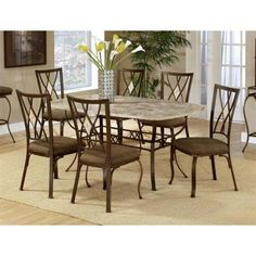 Intercon Bench Creek Dining Set At DAWS Home Furnishings In El Paso TX