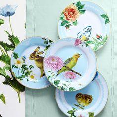 Spring Garden Salad Plates, Set of 4 | Williams-Sonoma