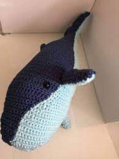 ballenas tejidas a crochet