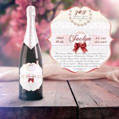 Tseustace| Craft Beer Labels. Custom wedding beer label.
