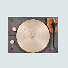 Fern & Roby - Cast iron and bronze turntable