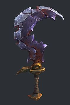 Lycelot Sword - Battle Chasers Nightwar Fan Art, Ayhan Aydogan on ArtStation at https://www.artstation.com/artwork/XaE9D