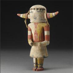 A Hopi Polychromed Wood Kachina Doll   Lot   Sotheby's