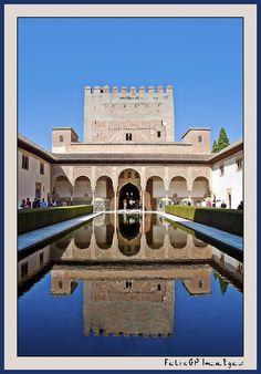 Alhambra - Granada -1984 it became a UNESCO Heritage Site