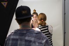 We caught the ILWYW team in action, as they prep for a product shoot.