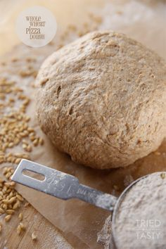 Whole Wheat Pizza Dough - Tried and Tasty
