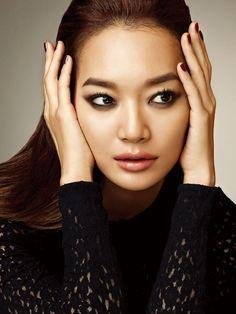 Shin Min Ah - Allure Magazine August Issue '13