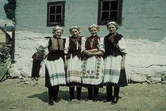 Polomka, Horehronie, Slovakia The Shining, Costumes, Embroidery, Traditional, History, Painting, Decoupage, Spirit, Technology