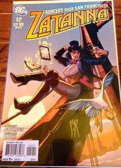 Zatanna 12 signed autographed comic Stephane Roux art DC comic-book Zatara Supergirl Superhero Batman best offer free shipping  on Etsy, $24.00
