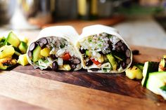 Grilled Veggie Burritos....PW