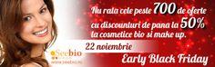 Reducere cosmetice bio Lavera, Martina Gebhardt, Khadi, etc acum pe www. Early Black Friday, Cosmetics