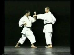 Kata Kanku-Dai - Bunkai - YouTube Karate Kata, Karate Training, Andrew Miller, Front Runner, Taekwondo, Martial Arts, Abs, Japan, Songs