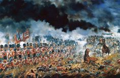 The 33rd Regiment at the Battle of Waterloo, 18 June 1815