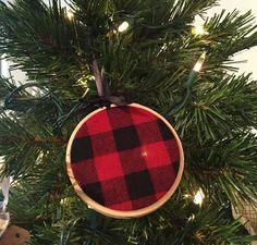Buffalo Plaid Ornament