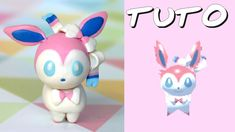 TUTO FIMO | Nymphali / Sylveon (de Pokémon Rumble World)