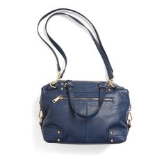 A navy bag is a great alternative to your go-to black purse. Stitch Fix   Broadway Convertible Satchel