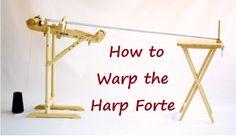 How to Warp the Kromski Harp Forte   Kromski Spinning & Weaving