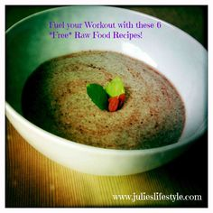 http://www.julieslifestyle.com/want-to-get-all-your-questions-answered-for-free/  Fuel your Workout & Boost your Energy with these 6 *Free* Raw Vegan Recipes for Pre or Post Workout Snacks